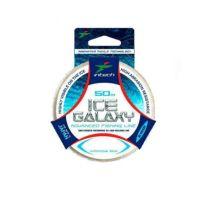 Леска Intech Ice Galaxy 50м голубая (0,095mm (0,73kg ))