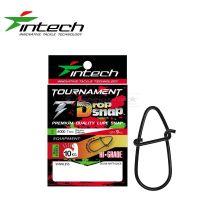 Застежка Intech Tournament Drop Snap Matt black #000
