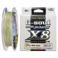 Шнур YGK G-Soul SUPER JIGMAN X8 200m 0.6 (0.128 mm) 14 lb (6.4 kg)