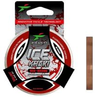 Леска Intech Khaki Ice Line red-brown 50m (0.223mm, 4.3kg)