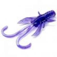 "Приманка FISHUP Baffi Fly 1.5"" (10pcs.), #060 - Dark Violet/Peacock & Silver"