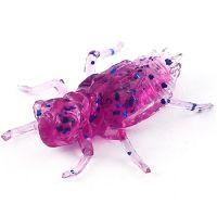 "Приманка FISHUP Dragonfly 0.75"" (12pcs.), #015 - Violet/Blue"