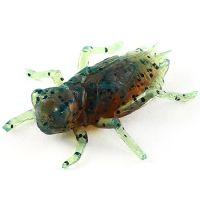 """Приманка FISHUP Dragonfly 0.75"""" (12pcs.), #017 - Motor Oil Pepper"""