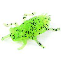 "Приманка FISHUP Dragonfly 0.75"" (12pcs.), #055 - Chartreuse/Black"