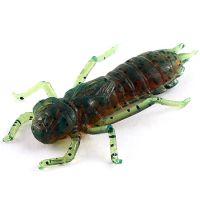 """Приманка FISHUP Dragonfly 1.5"""" (8pcs.), #017 - Motor Oil Pepper"""